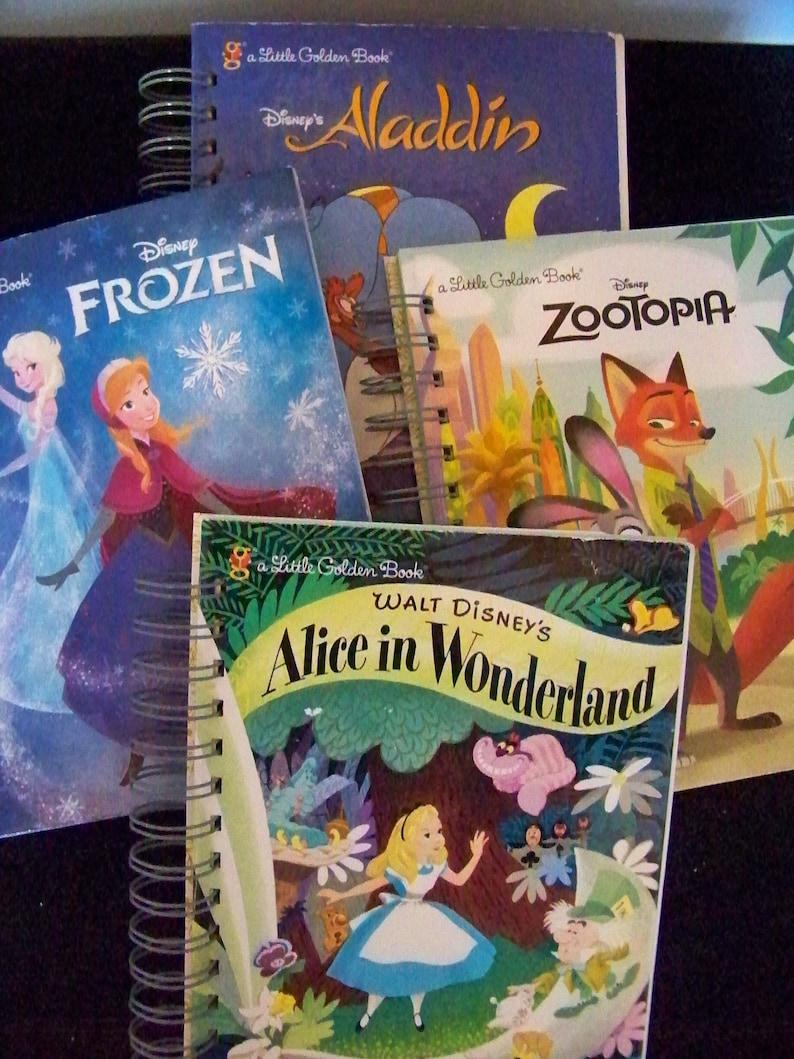 Little Golden Books Choose Your Favorite Aladdin Frozen Alice image 0