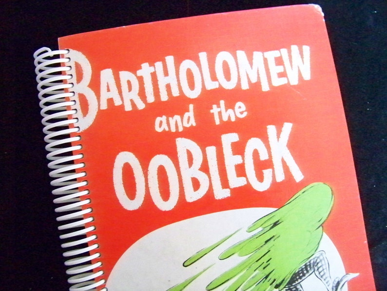 Dr Seuss Bartholomew and the Oobleck blank book diary journal image 0