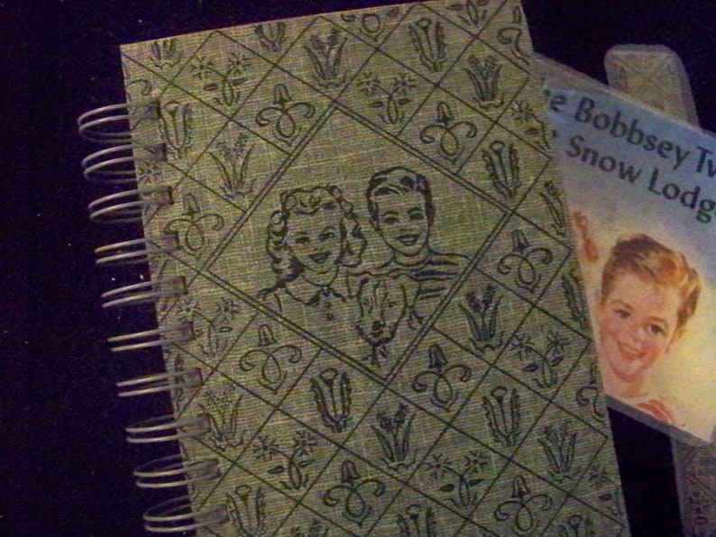 Bobbsey Twins vintage book journal blank book diary notebook image 0