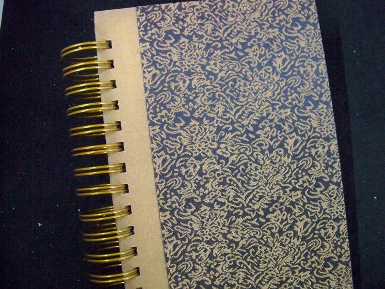 BLANK book diary planner notebook altered book fancy cover image 0