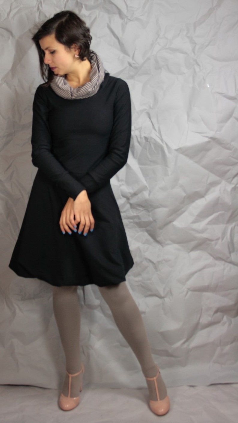 Cotton Balloon Dress