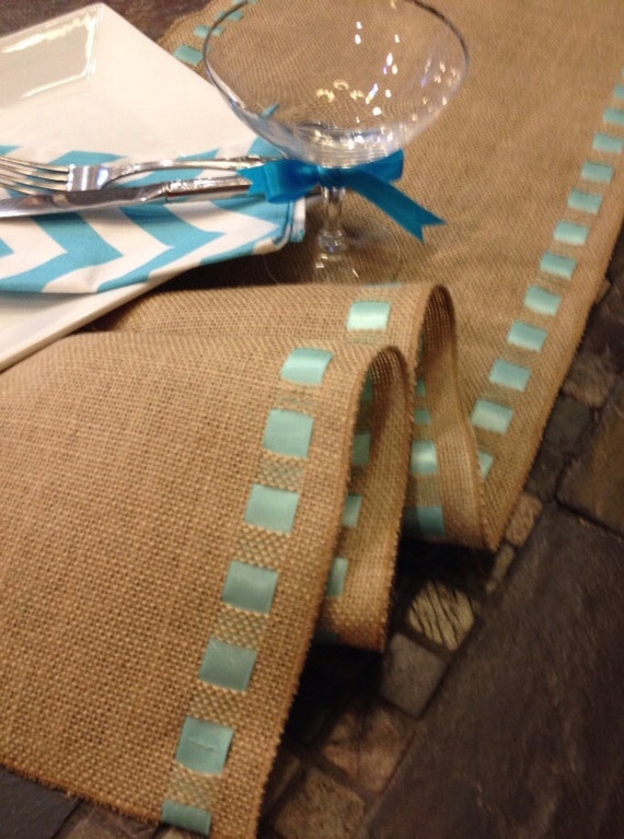 burlap ribbon table runner premium burlap 12 wide by