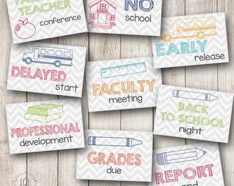 Teacher Planner Set 1 Planner Stickers, Perfect for Erin Condren Life Planner