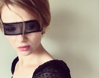 a5b8193d8d786 Skinny Unisex Black Lace Mask - Masquerade Ball Party Lace Mask - Sexy Mask  - Mystery Mask - Eyes Wide Shut - See Through Transparent Mask