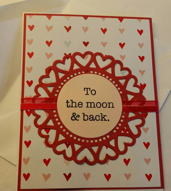 Valentines Day Card Handmade Card Unisex For Her For Him Etsy
