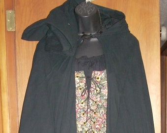 Renaissance Twill Cloaks