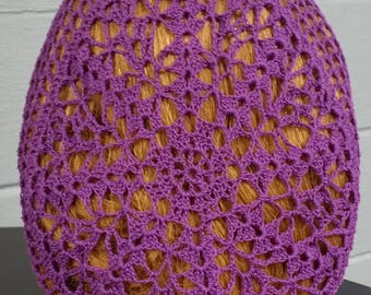 Lacy Bouquet Fancy Snood in Cotton Thread