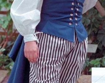 Renaissance Sailor Vest in various colors in Size Small to 5XL
