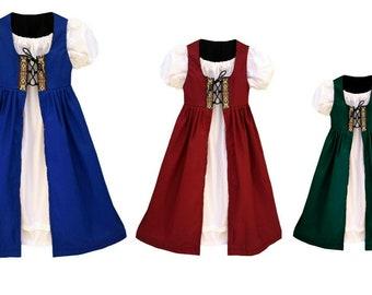 Irish Girls Renaissance Dresses