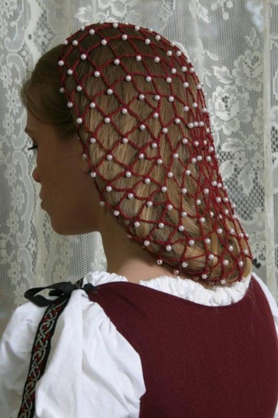 Net Baumwolle Perlen Haare Haarnetz 10 Lang Etsy