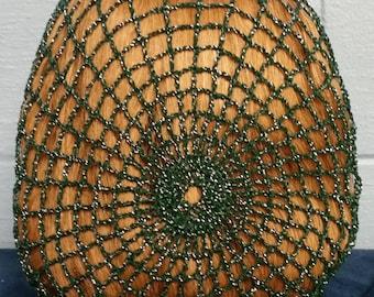 Cinderella Snood in Cotton/Metallic Combination Thread
