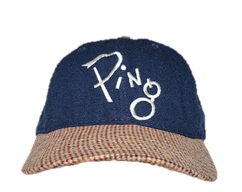 80118df6222 Vintage PING Golf Hat - Made in USA - Golfers Lid - Wool with Leather strap