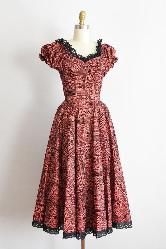 1950s Swing Is King dress - image 3