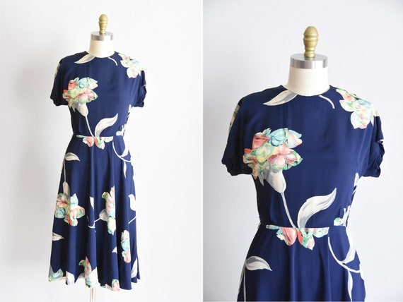 1940s Flower Delivery dress