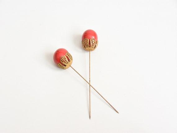 1930s Cherry On Top pin set