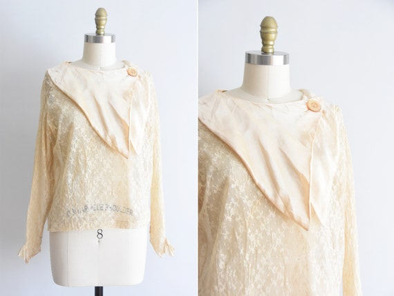 1920s Lady Of The Manor blouse
