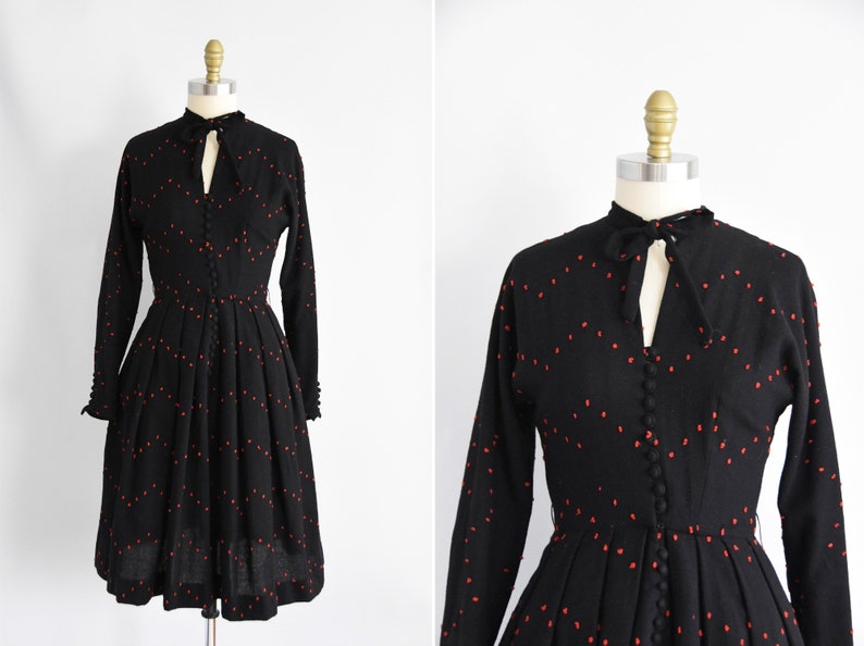 1950s Connect The Dots dress image 0