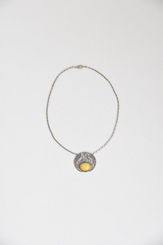 "1930s ""Tweety Bird"" necklace"