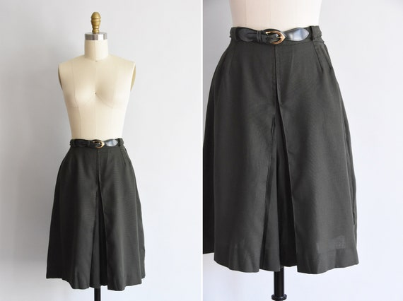 1950s Trail Dames shorts/ 50s/60s wide leg shorts/