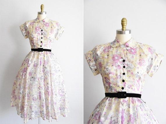 1950s Smells of Summer dress
