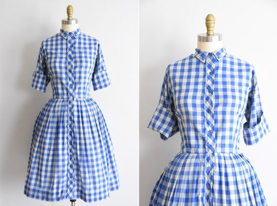 RESERVED 1950s Porch Swing dress