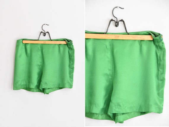 1950s Grasshopper high waisted shorts
