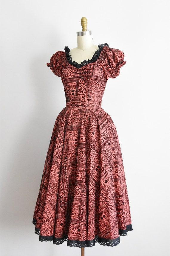 1950s Swing Is King dress - image 2