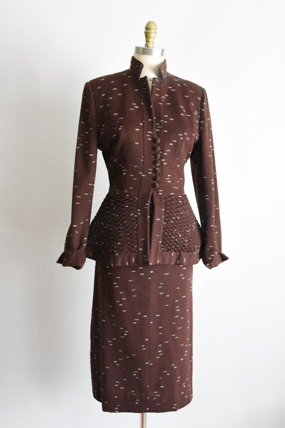 Outstanding 1950s Lilli Ann suit set - image 4