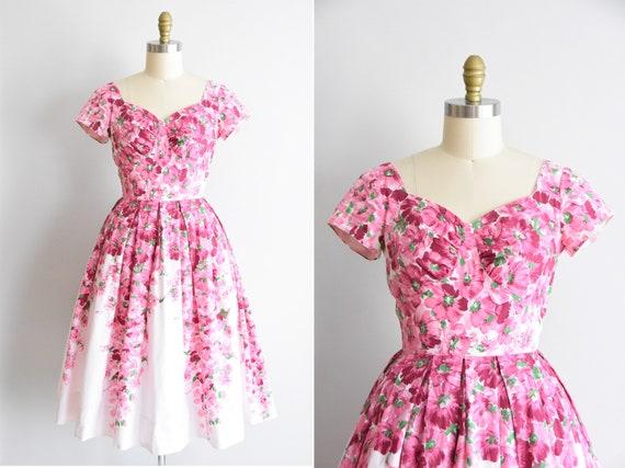 1950s Hey Poppies! dress