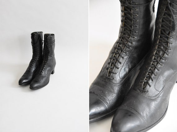 """Antique """"I Put A Spell On You"""" boots"""
