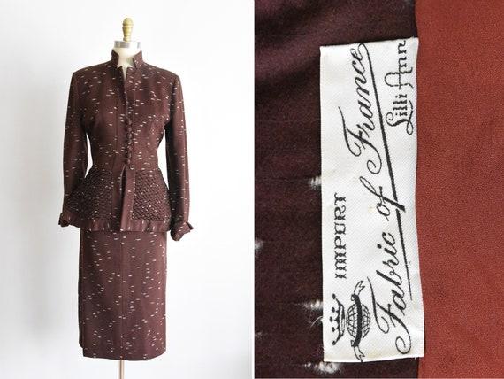 Outstanding 1950s Lilli Ann suit set - image 1