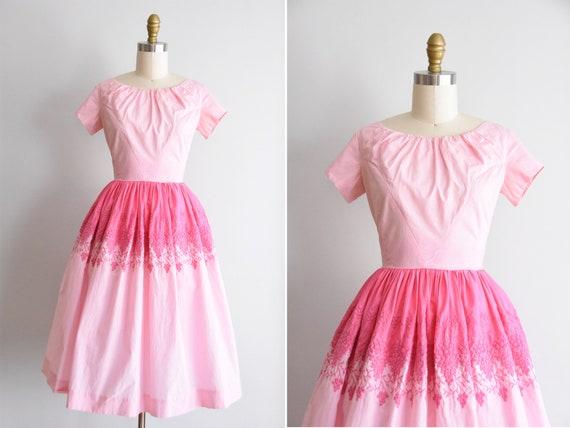 1950s Sugar Grapes dress