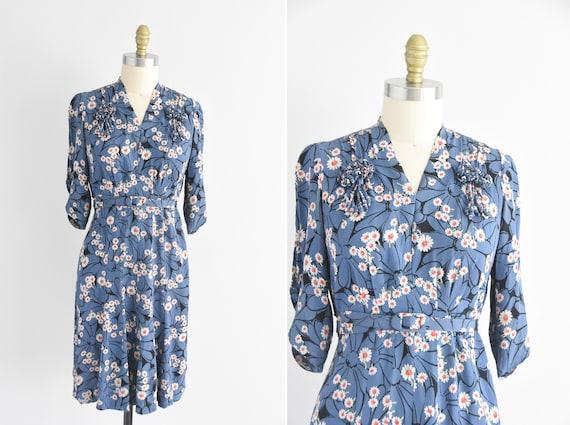 1930s Opsie Daisy dress