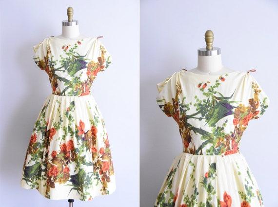 1950s Amazonian Sun dress