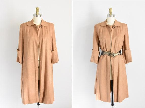 1940s Natural History swing coat
