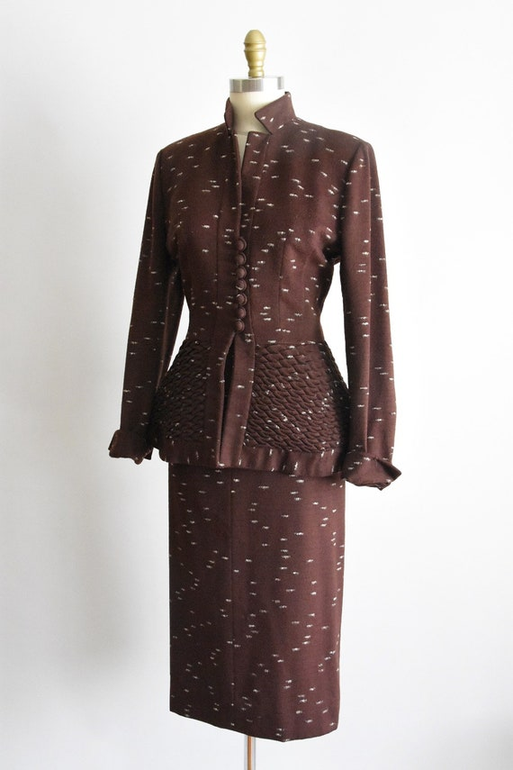 Outstanding 1950s Lilli Ann suit set - image 5