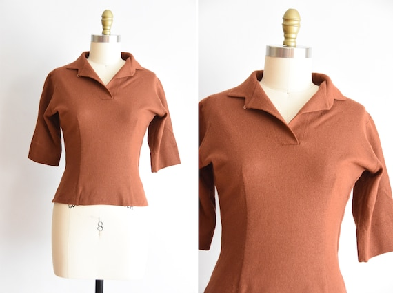 1950s  Cinnamon Girl top