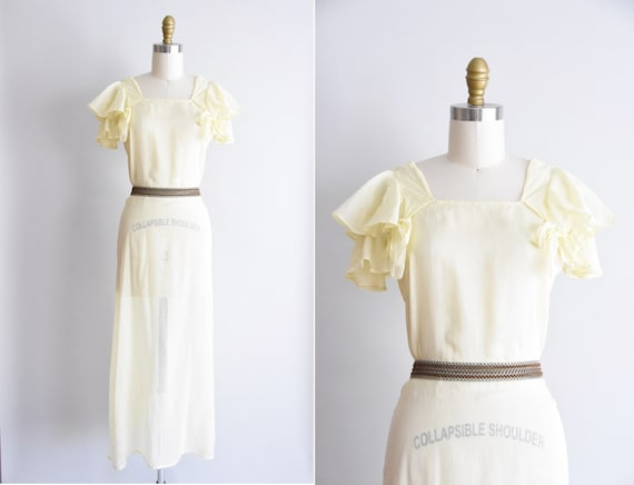 1930s House Lemons dress