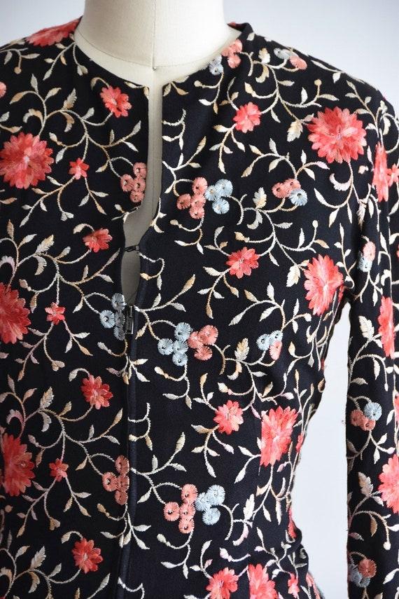 1940s J'adore Les Fleurs blouse - image 3