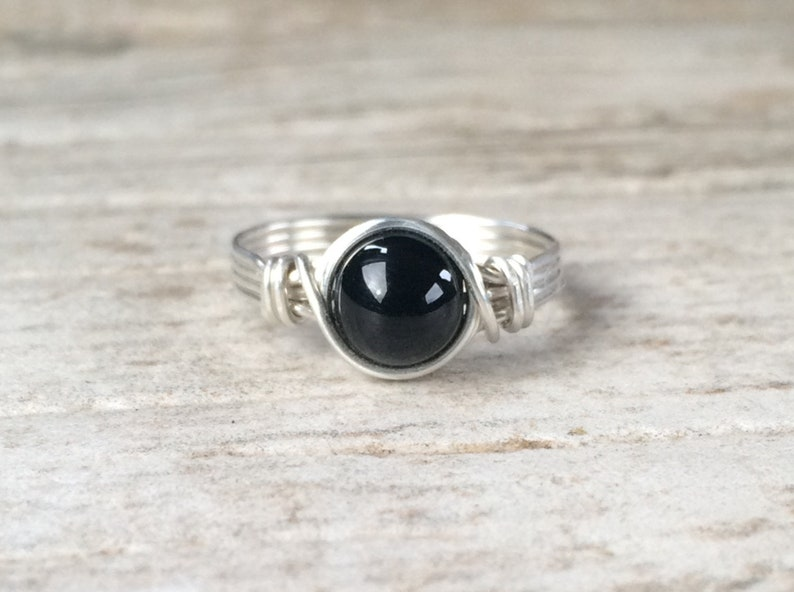 Black Onyx Ring  image 0