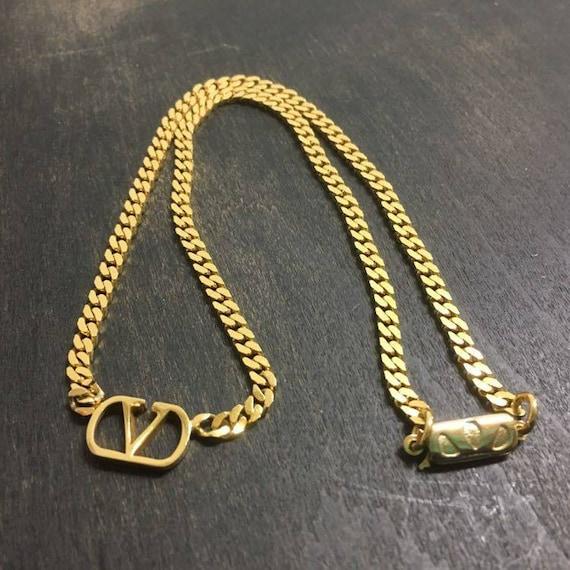 Valentino chain necklace