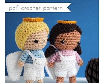 Angels amigurumi pattern. Pdf crochet pattern