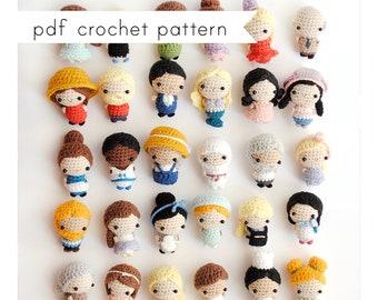Tiny People amigurumi pattern. Pdf crochet pattern