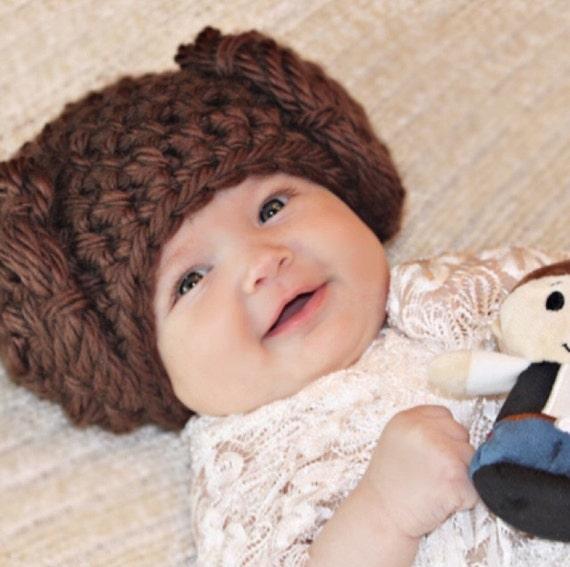 Princess Leia Baby Beanie  681c884de3e