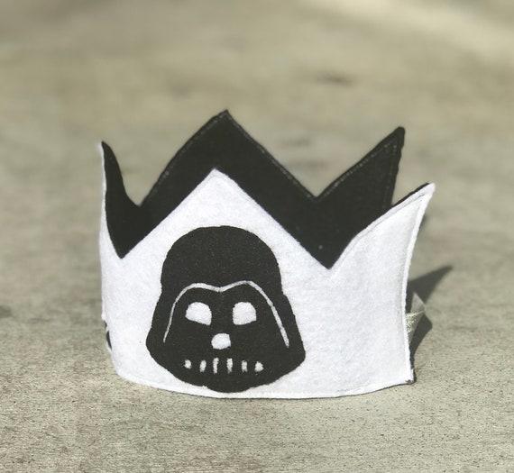 Storm Trooper Felt Birthday Crown