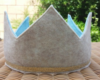 Boys Felt Birthday Crown - Felt Crown
