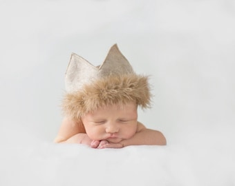 Felt and Fur Birthday/Costume Crown - Where the Wild Things Are - King of All the Wild Things