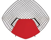 Cushion for Bertoia Diamond Chair - Extra Thick Foam Available - Knoll Style Eames Era Mid Century Decor