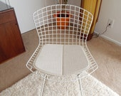 Replacement Pad for Bertoia Side Chair - Many materials to choose from Knoll style upholstery cushion
