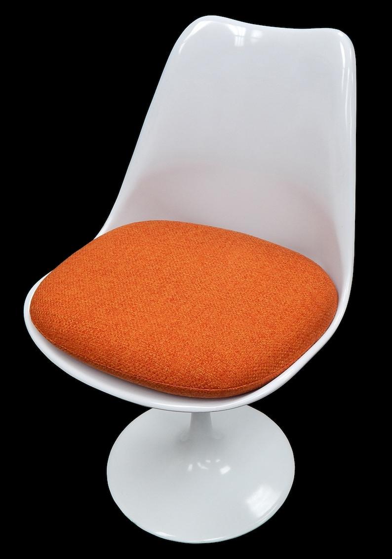 c74caa37f0c301 Cushion for Saarinen or Burke Tulip Side Chair Upholstery